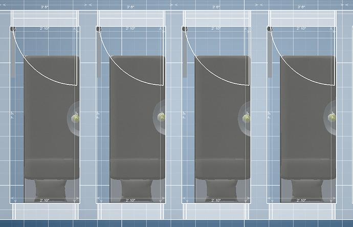 apartment room blueprints