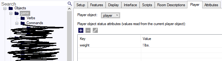 Status variable format